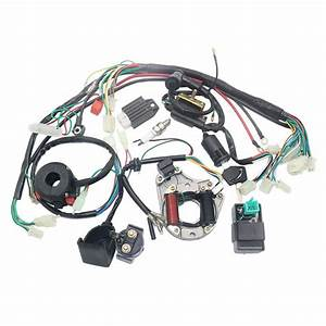 Complete Electrics Stator Coil Cdi Wiring Harness For 4