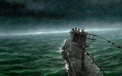 Submarine Wallpapers Rain Sea Desktop Backgrounds Computer