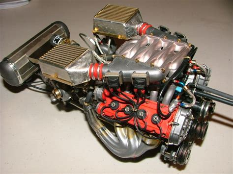 F40 Engine by F40 Engine Detail