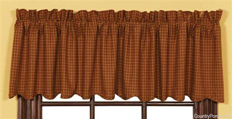 burlington scalloped curtain valance