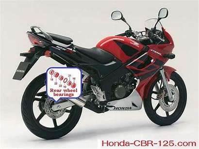 Cbr Honda Wheel Rear Shock Down Tube