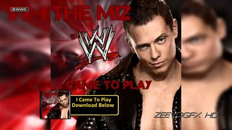 wwe the miz theme song awesome mp3 download