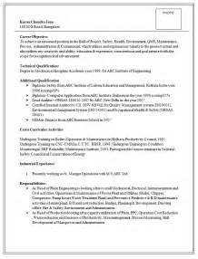 Operations Manager Resume Doc by Manager Resume Sle Doc Experience Resumes