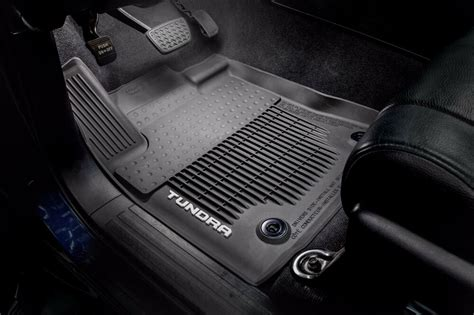 Toyota All Weather Floor Mats by Toyota Tundra 2016 Standard Cab All Weather Rubber Floor