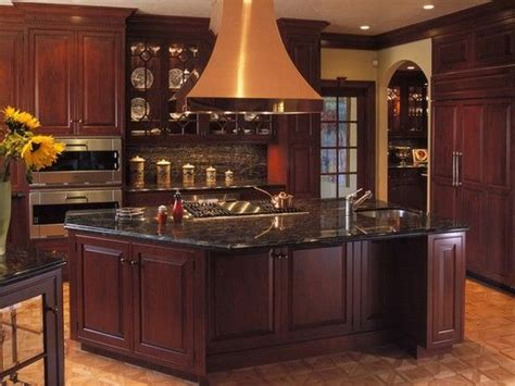 kitchen cabinet photo 20 best countertops for cherry cabinets images on 2671