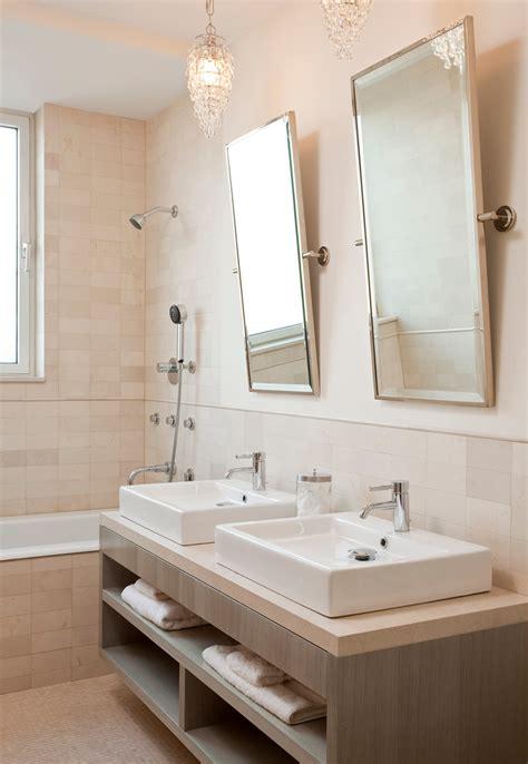 cool bathroom mirrors powder room contemporary  brown