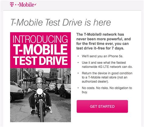 klimagerät mobil test update t mobile sends out test drive invitations updated