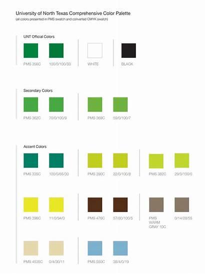 Unt Colors Brand Pantone Palette Official Identity