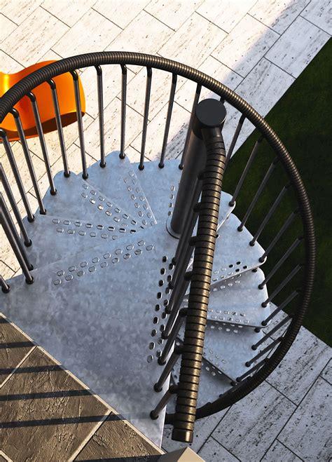 scala  chiocciola zincata  esterni