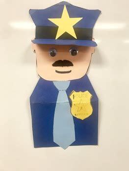 police officer craft  katies kinder shop teachers pay