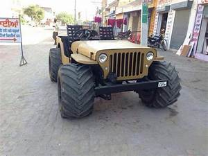 4 By 4 Jeep Indian Style Big Tires