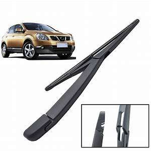 Rear Window Windscreen Wiper Arm Blade Set Kit For Nissan