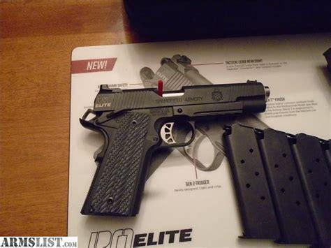 springfield range armory officer elite 45 operator acp gear armslist handguns seller contact