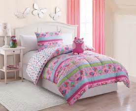 furry friends 3 piece owl twin comforter set shop your way online shopping earn points on