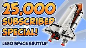 25,000 Subscriber Special - Building the Lego Space ...