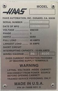 Used Machine Haas Machinestation