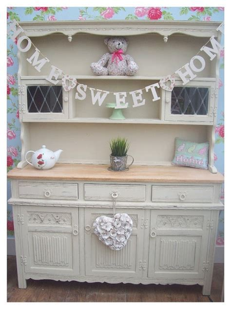 shabby chic oak welsh dresser   I LOVE THIS!!! Would love