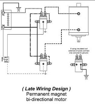 wiring diagram 10 easy set up winch solenoid wiring