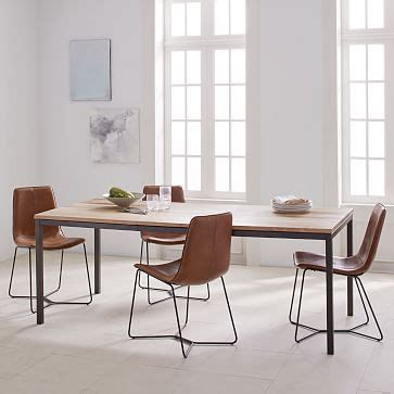 West Elm Dining Room Tables by Box Frame Expandable Dining Table West Elm