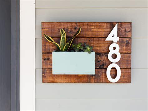 diy house number sign craftivity designs