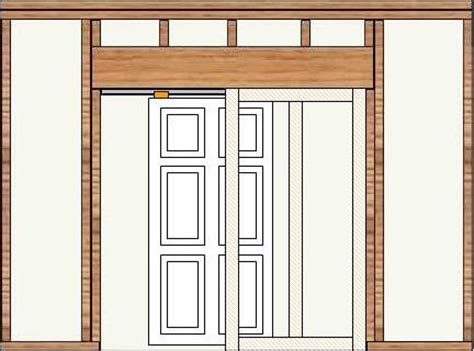 how to install a pocket door part 2