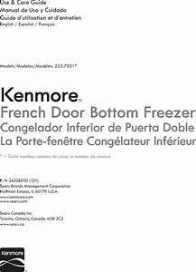Kenmore 25370313214 User Manual Refrigerator Manuals And