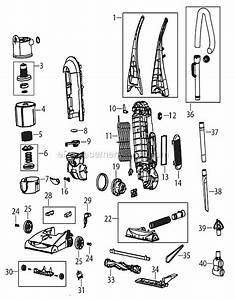 Bissell 82h1 Parts List And Diagram   Ereplacementparts Com