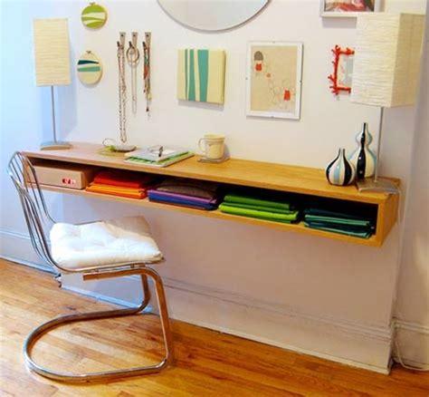 floating office desk 20 diy desks that really work for your home office