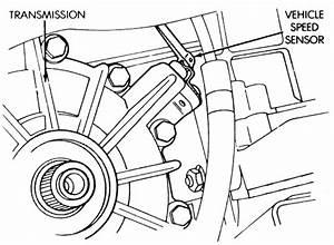 Service Manual  1995 Chrysler Lebaron Front Wheel Speed
