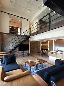 Choisir un escalier pour mezzanine pour son loft 계단 및 집