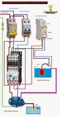 esquemas el 233 ctricos comando para motor bomba monofasico manual automat esquemas el 233 ctricos
