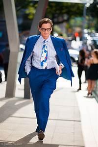 Mens Cobalt Blue Suit | Tulips Clothing