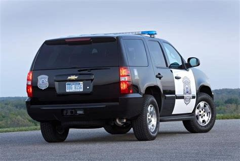 chevrolet tahoe police car review  top speed
