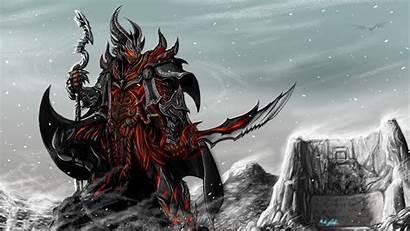 Skyrim 4k Background Sword Armor Wallpapersafari Rider