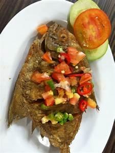 Ikan Bawal Goreng Dabu | Indonesian Cuisine | Pinterest