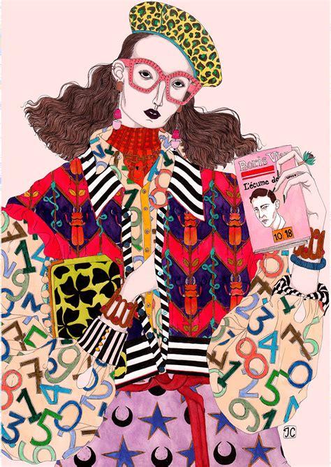 Fantastical Fashion Illustration to Go in Your Dream Closet