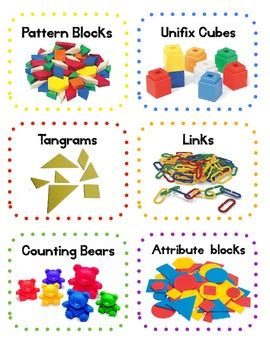 free classroom math manipulatives labels by mrs 447 | original 306209 1