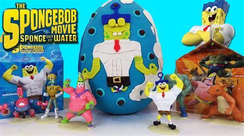 Spongebob Movie Sponge Out Of Water Mcdonald's Happy Meal