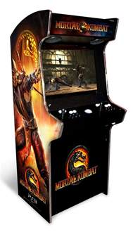 arcade heroes mortal kombat s new arcade cabinet made for