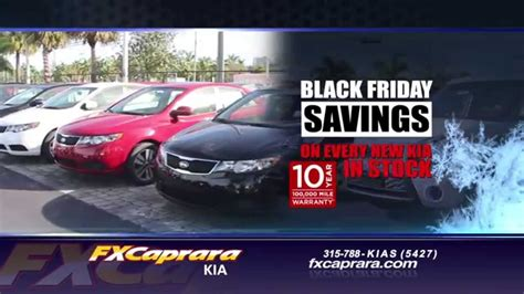 Fx Caprara Kia  €�black Friday Savings €� (112014) Youtube