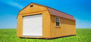 pre built garage lofted garages backyard outfitters With backyard outfitters inc