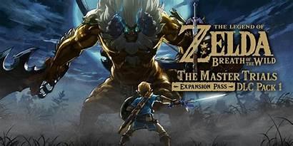 Zelda Breath Wild Legend Dlc Nintendo Master