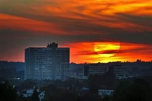 Augsburg München Entfernung : sonnenuntergang ber augsburg foto bild landschaft natur bilder auf fotocommunity ~ Markanthonyermac.com Haus und Dekorationen