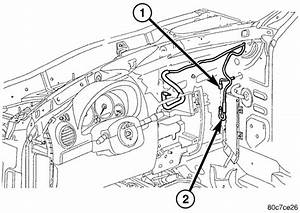 Service Manual  2012 Jeep Wrangler Dash Removal Diagram