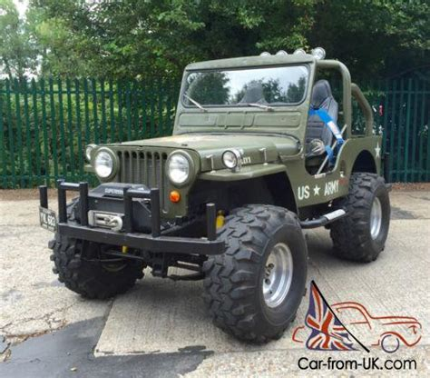 jeep willys custom willys jeep 1948 american 4x4 modified 1 off custom 302 5