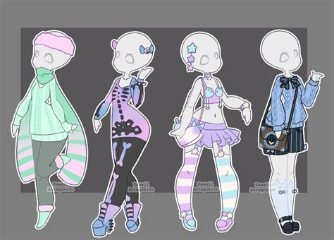Gacha Outfits 23 By Kawaii-antagonist.deviantart.com On