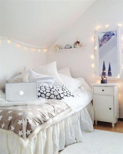inspiration chambre ado fille 60 idées en photos avec éclairage romantique