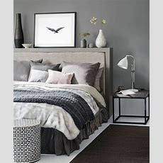 Grey Bedroom Ideas  Grey Bedroom Decorating  Grey Colour