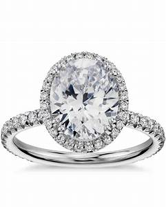 oval engagement rings for the bride to be martha stewart With wedding bands for oval rings