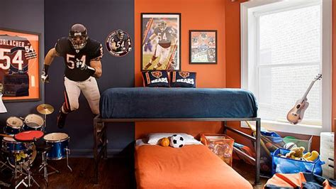 get athletic with 15 sports bedroom ideas boys rooms
